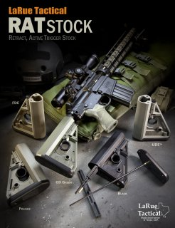 LaRue Tactical RAT Stock blk