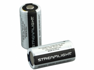 ストリームライト製CR123x2個 Streamlight 3-Volt Lithium Batteries