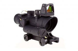 TA02-RM06: Trijicon ACOG 4x32 LED + 3.25 MOA Adjustable RMR