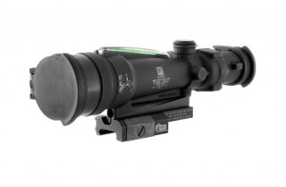 TA11MGO-M249: ACOG 3.5x35 Scope, Dual Illuminated Green Horseshoe