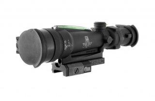 TA11MGO-M249: ACOG 3.5x35 Scope, Dual Illuminated Green Horseshoe