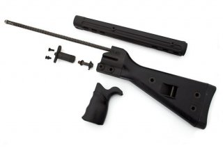 中古放出品 G3系用 German Surplus Stock Set With Backplate- Black