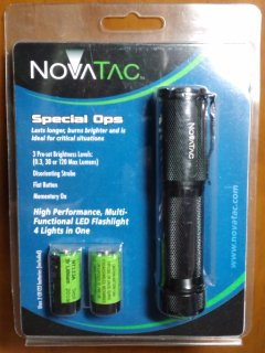 NovaTac 120SO Special Ops LED Flashlight