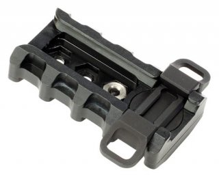 BADGER Tactical Rapid Adjustment Mounting Point, TRAMP (for Harris Bipod)