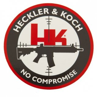 HK No Compromise Decal    実物 H&K○ステッカー No Compromise