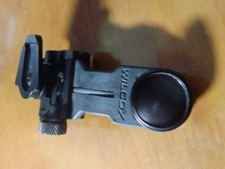 中古美品 Wilcox AN/PVS-14 J Arm with NVG Interface Shoe