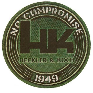 HK No Compromise 1949 Decal - Green○