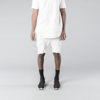 <img class='new_mark_img1' src='//img.shop-pro.jp/img/new/icons3.gif' style='border:none;display:inline;margin:0px;padding:0px;width:auto;' />KOLLAR CLOTHING ZIP SHORTS WHITE(カラークロージング ジップ ショーツ ホワイト)