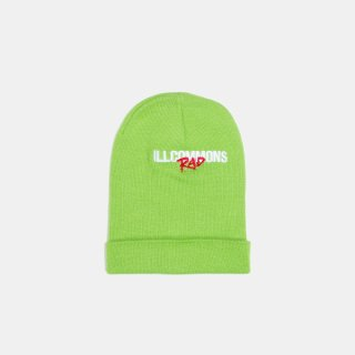 <img class='new_mark_img1' src='//img.shop-pro.jp/img/new/icons3.gif' style='border:none;display:inline;margin:0px;padding:0px;width:auto;' />ILLCOMMONS RAD KNITCAP GREEN(イルコモンズ ニットキャップ グリーン)