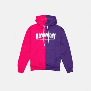 <img class='new_mark_img1' src='https://img.shop-pro.jp/img/new/icons3.gif' style='border:none;display:inline;margin:0px;padding:0px;width:auto;' />ILLCOMMONS MAGAZINE HOODIE PURPLE PINK (イルコモンズ マガジンパーカー パープル ピンク)