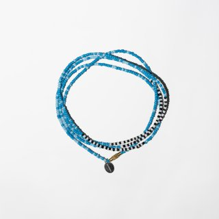 <img class='new_mark_img1' src='https://img.shop-pro.jp/img/new/icons3.gif' style='border:none;display:inline;margin:0px;padding:0px;width:auto;' />ILLCOMMONS LONG BEADS NECKLACE BLUE(イルコモンズ  ロングビーズネックレス ブルー)