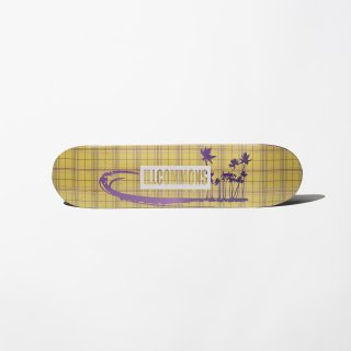 <img class='new_mark_img1' src='//img.shop-pro.jp/img/new/icons3.gif' style='border:none;display:inline;margin:0px;padding:0px;width:auto;' />ILLCOMMONS  SKATEBOARDDECK YELLOW CHECK(イルコモンズ スケートボードデッキ イエローチェック)
