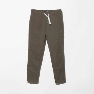 <img class='new_mark_img1' src='//img.shop-pro.jp/img/new/icons3.gif' style='border:none;display:inline;margin:0px;padding:0px;width:auto;' />ILLCOMMONS LINEN SLACKS PANTS KHAKI (イルコモンズ リネン スラックス パンツ カーキ)