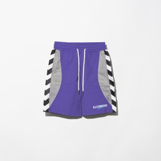 <img class='new_mark_img1' src='https://img.shop-pro.jp/img/new/icons3.gif' style='border:none;display:inline;margin:0px;padding:0px;width:auto;' />ILLCOMMONS SIDE LINE BOARD SHORTS PURPLE(イルコモンズ サイドラインボードショーツ パープル)
