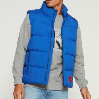 <img class='new_mark_img1' src='https://img.shop-pro.jp/img/new/icons3.gif' style='border:none;display:inline;margin:0px;padding:0px;width:auto;' />CALVIN KLEIN BLUE DOWNVEST(カルバンクライン ブルー ダウンベスト)