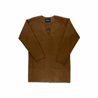 <img class='new_mark_img1' src='https://img.shop-pro.jp/img/new/icons3.gif' style='border:none;display:inline;margin:0px;padding:0px;width:auto;' />ILLCOMMONS COLLARLESS COAT(イルコモンズ ノーカラーコート )
