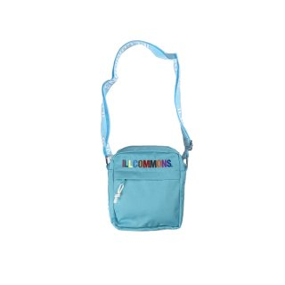 <img class='new_mark_img1' src='https://img.shop-pro.jp/img/new/icons3.gif' style='border:none;display:inline;margin:0px;padding:0px;width:auto;' />ILLCOMMONS MINI SHOULDER BAG WATER BLUE(イルコモンズ  ミニショルダーバッグ 水色)