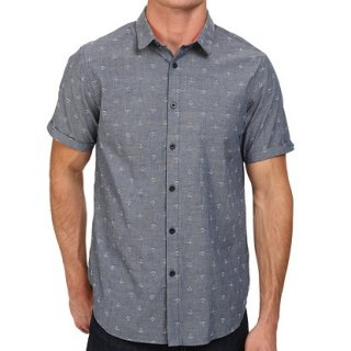 <img class='new_mark_img1' src='//img.shop-pro.jp/img/new/icons3.gif' style='border:none;display:inline;margin:0px;padding:0px;width:auto;' />HOWE ANCHOR CHAMBRAY S/S SHIRTS (ハウ アンカー シャンブレー シャツ)