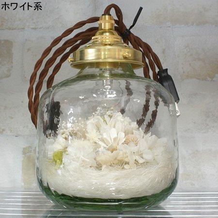 m.soeur (エムスール)<br>フラワーボトルライト (クリア/中/短) (LED/置き型)<br>ottei01523