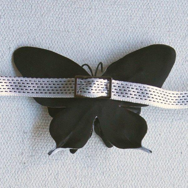 CA4LA Bridal (カシラブライダル)<br>PERHONEN BOWTIE (No.SHK00387) 蝶の蝶ネクタイ (ユニセックス)<br>aotei00564