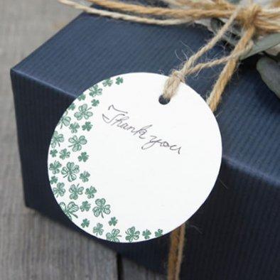 Cli'O mariage (クリオマリアージュ)<br>クローバーギフトタグカード (3枚入り)<br>ottei01595