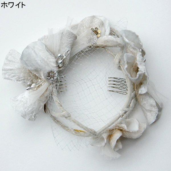 CA4LA Bridal (カシラブライダル)<br>QUITTERIE (No.YSE00151) アンティーク風ヘッドドレス<br>aotei00624