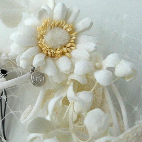 CA4LA Bridal (カシラブライダル)<br>ライラックの香りヘッドドレス<br>aotei00630 (No.SHI00565)