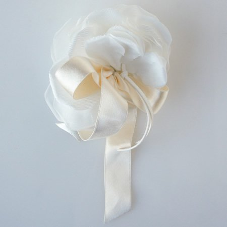 アトリエ染花 (アトリエセンカ)<BR>ヌーヴォ リボン付3Wayフラワーヘッドドレス<br>ao定番00351