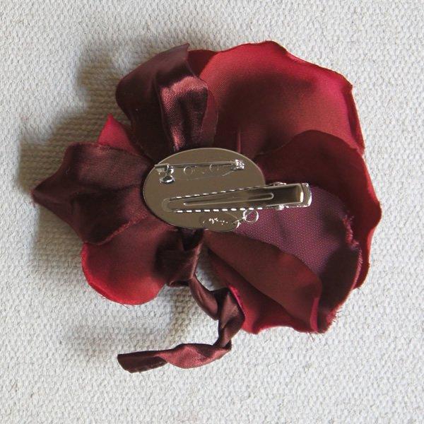 アトリエ染花 (アトリエセンカ)<BR>マリリン ローズモチーフ2Wayヘッドドレス<br>ao定番00434