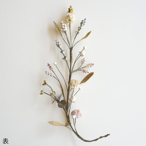 atelier Re-tour (アトリエルトア)<br>20180629-8 / 夢のつづき ラベンダーとシロツメクサのヘッドドレス (L) 【一点物】<br>aotei00643