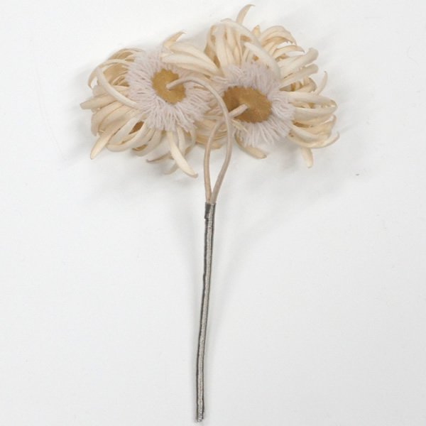 la fleur (ラフルール)<br>マーガレットのヘッドアクセサリー<br>aotei00652
