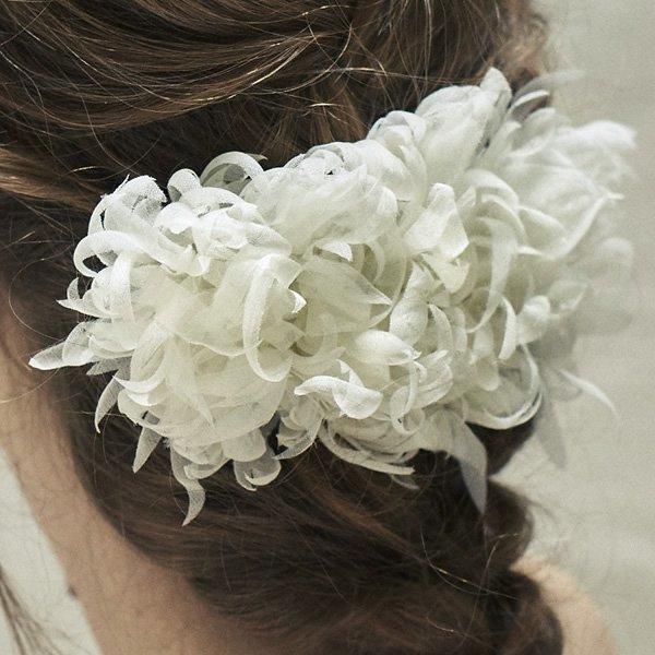 SOIE:LABO × Cli'O mariage (ソワ・ラボ×クリオマリアージュ)<br>SLCM19_001 マロニエの花のヘッドピース【一点物】<br>aotei00654
