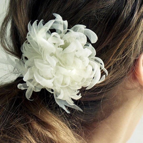 SOIE:LABO × Cli'O mariage (ソワ・ラボ×クリオマリアージュ)<br>SLCM19_002 マロニエの花のかんざし【一点物】<br>aotei00655
