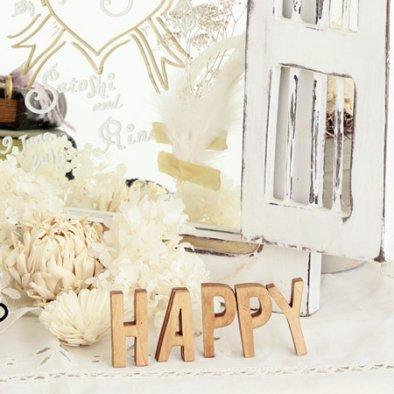 Cli'O mariage (クリオマリアージュ)<br>木製ミニサイズアルファベット切文字 (大文字)<br>ot定番01308
