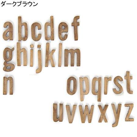 Cli'O mariage (クリオマリアージュ)<br>木製ミニサイズアルファベット切文字 (小文字)<br>ot定番01309