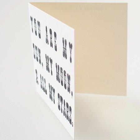 SUGARBOO DESIGNS (シュガーブーデザインズ)<br>レタードミニカード (1枚入+封筒付)<br>ot定番01168