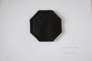 hakkaku / ハッカクコースター ブラック