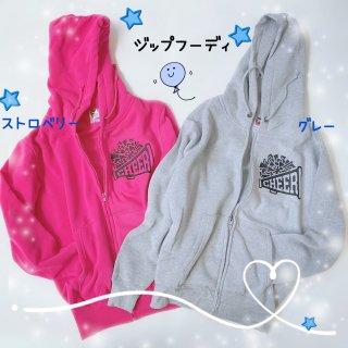 【SALE】ジップフーディ/レディースS