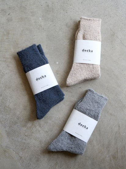 "<img class='new_mark_img1' src='https://img.shop-pro.jp/img/new/icons13.gif' style='border:none;display:inline;margin:0px;padding:0px;width:auto;' />decka quality socks by HUE ""wool socks"""