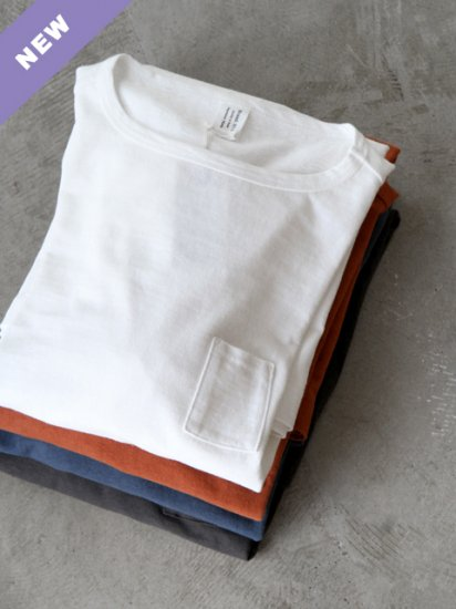 "HUE ""3 Pockets T-Shirts / Long length(4colors)"""