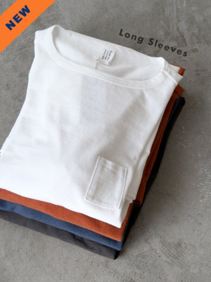 "HUE ""3 Pockets T-Shirts / Long Sleeves(4colors)"""