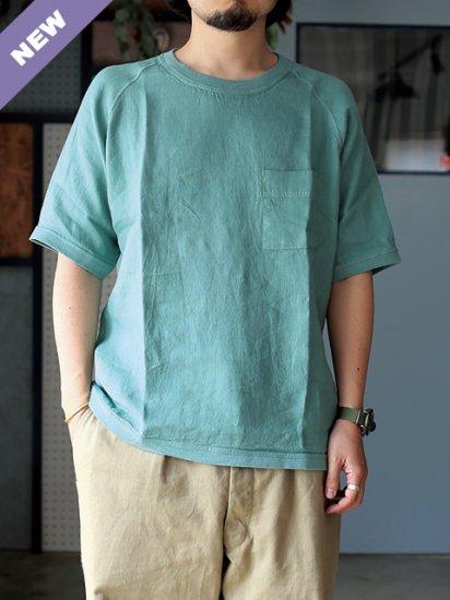 "maillot ""linen pocket shirts-Tee(2COLORS)"""