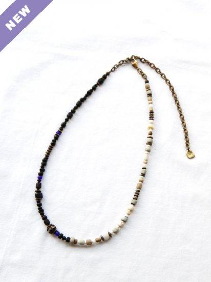 "MEL ""2way Necklace(BRASS:monochrome edition)"""