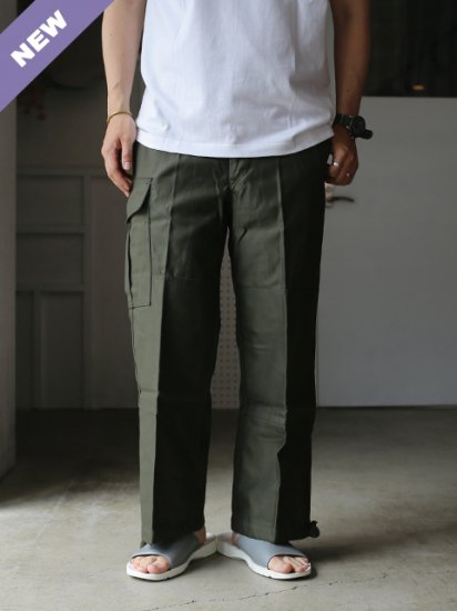 "DEAD STOCK ""Belgium Army M88 Field Over Pants"""
