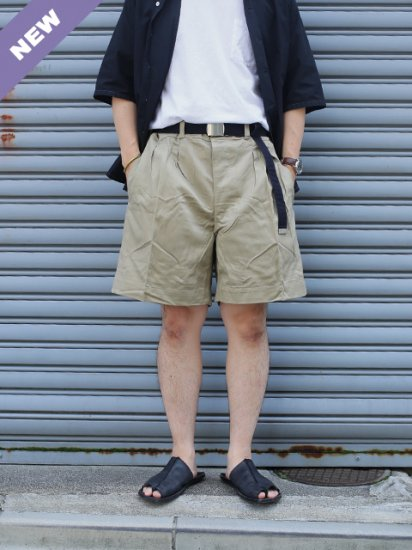 "DEADSTOCK ""50's~60's  M-52 French Military Chino  Shorts"""