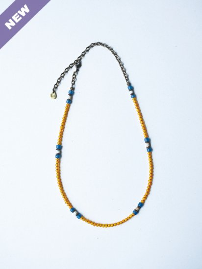 """MEL """"2way Necklace(YELLOW)"""""""