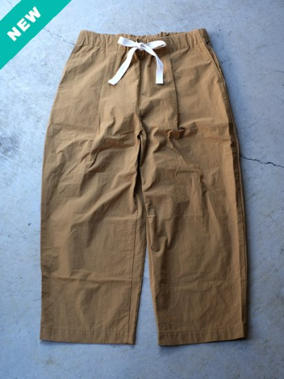 "Pii-day ""BOX POCKET PANTS(CAMEL)"""