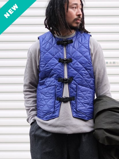 "monitaly ""Quilted Cincho Vest"""