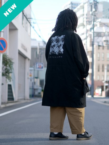スウェーデン軍 M-59 FIELD COAT -BLACK OVER DYE  LOTUS LAND EDITION-