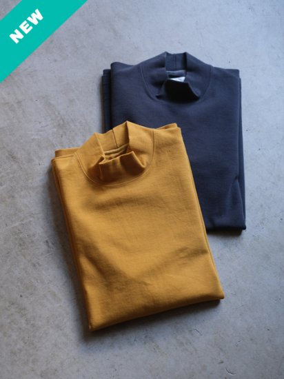 """CURLY """"STATIC LS MOCK NECK(2colors)"""""""